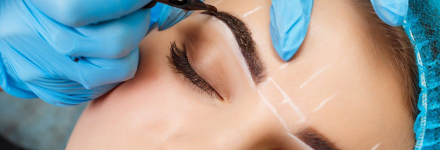 Le maquillage permanent des sourcils