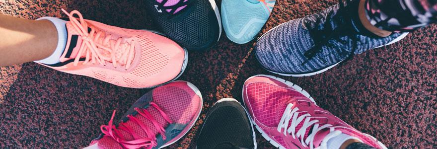 Chaussures techniques pieds sensibles