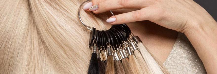 Extensions de cheveux à chaud