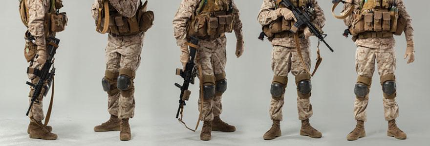 Spécialiste du camouflage militaire